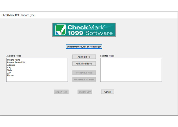 CheckMark 1099 Software | 1099 Print Software | 1099 E-File